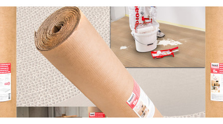 Protective cardboard two-layer 15m