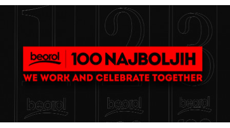 Top 100 best - We work and celebrate together