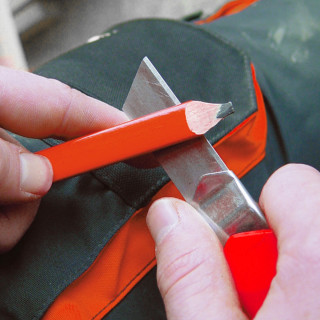 Carpenter pencil HB, 240mm