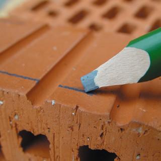 Carpenter pencil 6H, 240mm