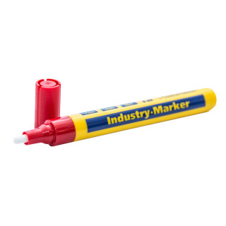 Marker industrial 4mm, red