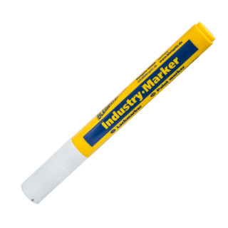 Marker industral 4mm, white