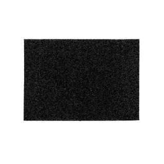 Abrasive sponge medium