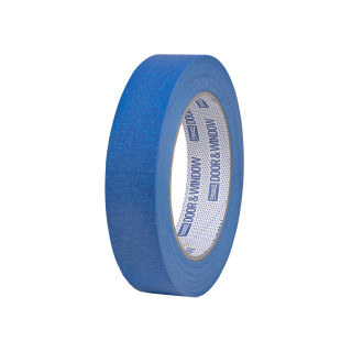 Masking tape Door & Window protection 24mm x 50m, 80ᵒC