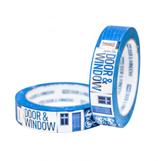 Masking tape Door & Window protection 24mm x 33m, 80ᵒC