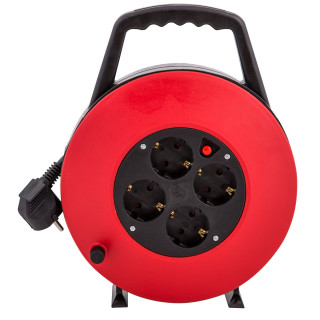 Retractable cable reel 10m