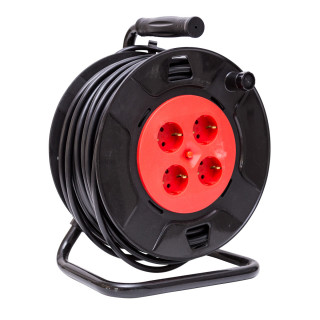 Extension cable reel 25m
