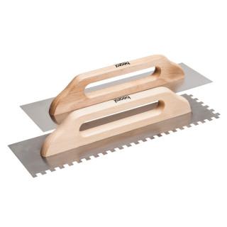Plastering trowel, 480x130mm, woden handle