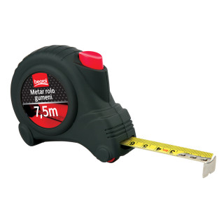 Steel Measuring Tape Roll Rubber 24 ft / 7.5m