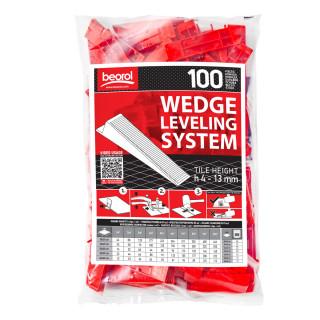 Wedges 100 pcs