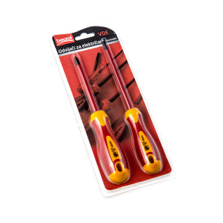 VDE insulated screwdriver set, 2pcs