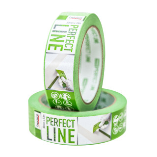 Masking tape Perfect Line 30mm x 33m, 80ᵒC