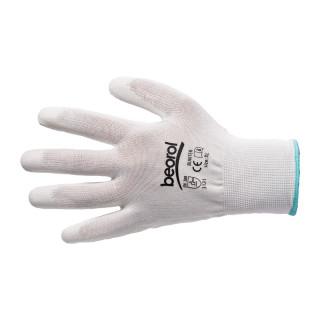 Bunter gloves white