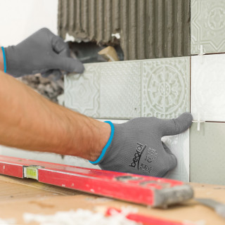 Gloves Bunter gray
