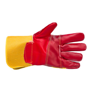 Leather gloves extra strong