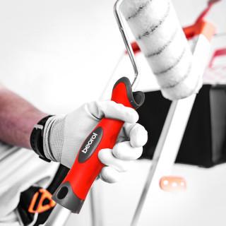 Paint roller handle, two-component 23cm ø8mm
