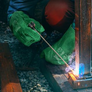Hefest welding leather gloves