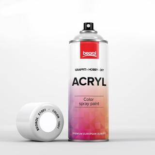 Spray paint white, matt, Bianco Opaco