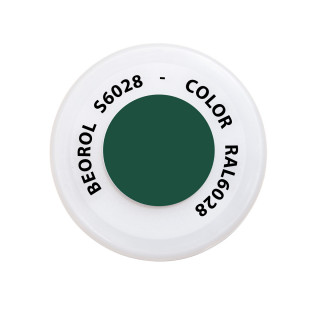 Spray paint green Pino RAL6028