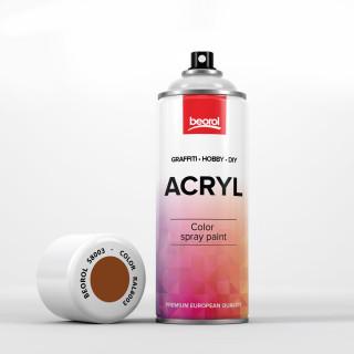 Spray paint brown Castagna RAL8003