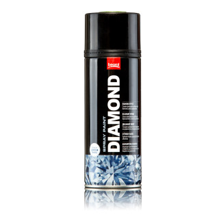 Paint spray diamond effect black Nero