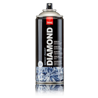 Paint spray diamond effect red Rosso Cicliamino