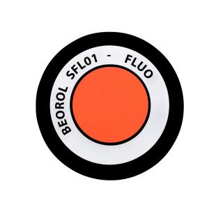 Fluo paint spray orange Arancio