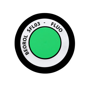 Fluo paint spray green Verde