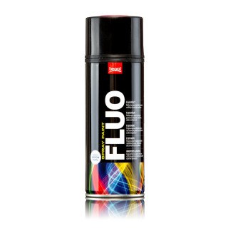 Fluo paint spray red Rosso