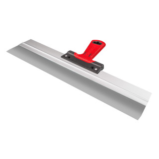 Scraper rubber-plastic handle with hole, steel 60cm