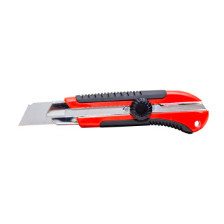 Utility knife with fixing screw 25mm
