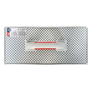 Metal rasp trowel Perfo 400x180mm
