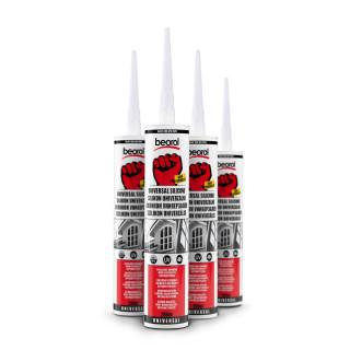 Universal silicone, black 280 ml