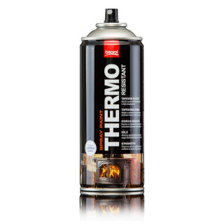 Paint spray for high temperatures silver Alluminio
