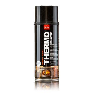 Paint spray for high temperatures red Rosso