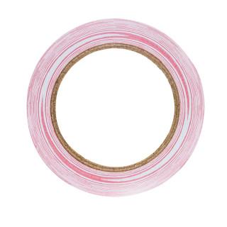 Warning-separating tape red/white 75mm x 100m