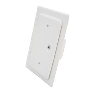 Chimney door, white 120 x 180mm