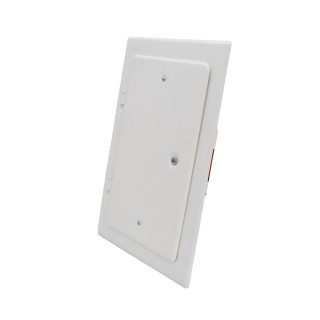 Chimney door, white 160 x 280mm