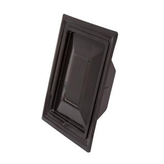 Chimney door, brown 110 x 150mm