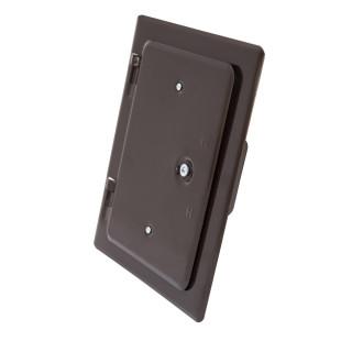 Chimney door, brown 120 x 180mm