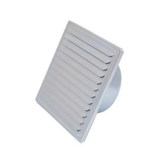 Ventilation grid, zinc plated ø100, 150x150mm