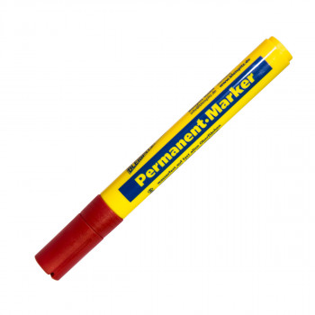 Marker permanent 1.5-3mm, red