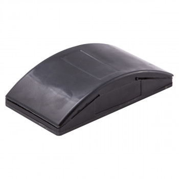 Sandpaper holder, black rubber