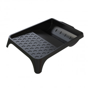 Plastic paint tray 36x26cm, black