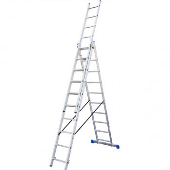 Combination aluminium ladders, 10 steps