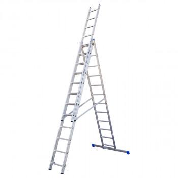 Combination aluminium ladders, 12 steps