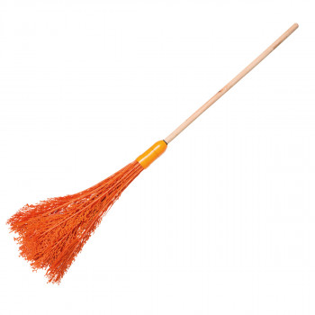 Plastic broom with handle