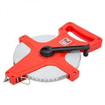 Fiberglass measuring tape professional 165 ft /50m