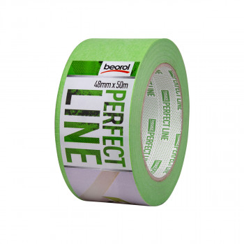 Masking tape Perfect line 48mm x 50m, 80ᵒC