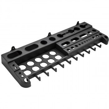 Plastic tool shelf